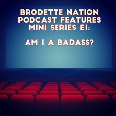 """#brodettenationpodcast will be featuring a mini series where I talk about what's on my mind experiences random topics etc. Today I released the first episode! At the #BNpodcast launch party I was asked what makes me a badass. Webster dictionary defines it as """"ready to cause or get into trouble or of formidable strength or skill."""" I decided neither one of those definitions worked and created my own definition of a badass ... even if it took me a minute to get there.  Search for Brodette…"""