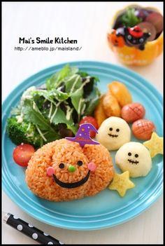 【おばけカボチャのプレートランチ】 | Mai's スマイル キッチン