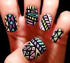 Resultado de imagen para brown gel nail designs