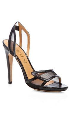 Spokette Lizzard Sandals by Aperlai Now Available on Moda Operandi
