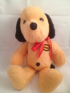 Animal Fair HENRY 14 inches Vintage 1971 Plush by SistersSaving