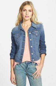 Women's Hudson Jeans Stretch Denim Jacket