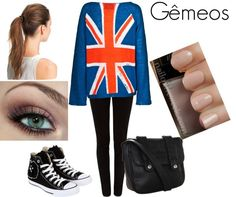 """""""Gêmeos"""" by analuiza26 ❤ liked on Polyvore"""