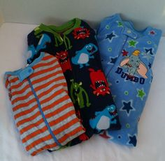 Disney Dumbo,Carter Monster Size 2T Boys Lot of 3 Fleece Footed Pajamas Sleepers in Clothing, Shoes & Accessories, Baby & Toddler Clothing, Boys' Clothing (Newborn-5T)   eBay