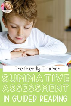 How to use summative assessments in the classroom. Make guided reading instruction easier and more effective with summative assessments as part of your guided reading instruction. Guided reading tips and tricks from a third grade teacher.