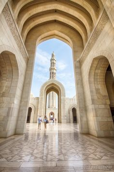 The Grande Mosque in Muscat, Oman is pure symmetry!