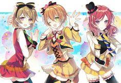 Hanayo, Rin & Maki