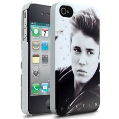 Justin Bieber iPhone 4 Cases ❤ liked on Polyvore
