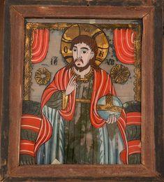 Byzantine Icons, Sacred Art, Folk Art, Masks, Mexican, Teacher, Painting, Christ, Saints