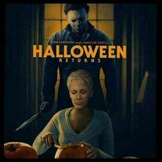 Jamie Lee Curtis Halloween, Michael Myers, Hallows Eve, Movie Stars, Tv, Movies, Poster, Films, Television Set