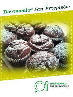 Muffinki bananowe jest to przepis stworzony przez użytkownika Meg. Ten przepis na Thermomix<sup>®</sup> znajdziesz w kategorii Słodkie wypieki na www.przepisownia.pl, społeczności Thermomix<sup>®</sup>. Breakfast, Food, Thermomix, Breakfast Cafe, Essen, Yemek, Meals