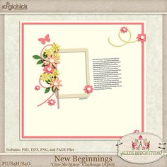 ads new beginnings Give Me Space Challenge - Alexis Design Studio - April 2014