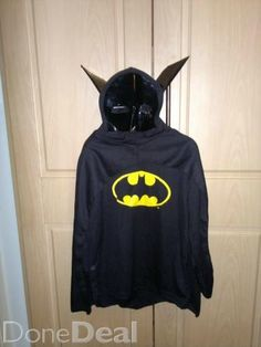 Batman Costume Boys Girl Halloween For Sale in Offaly : €10 - DoneDeal.ie
