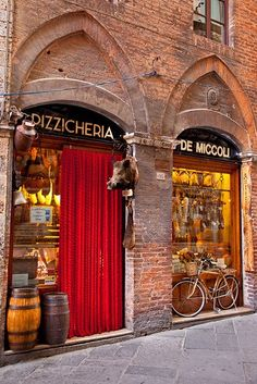 Pizzicheria - Siena meat and cheese shop