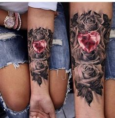 Dope Tattoo | Heart on your sleeve ❤️