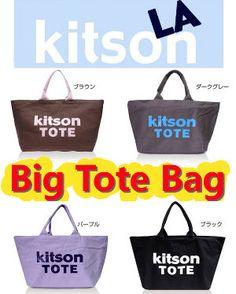 【あす楽・送料無料】キットソン 【KITSON】≪Canvas Tote キャンバス・トート≫ COLOR CANVAS TOTE Lサイズ カラーキャンバストートバッグ Tote Bag トートバック KITSON(キットソン)【楽天市場】
