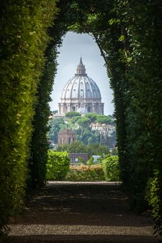 St Peters through a Keyhole, Rome, Italy