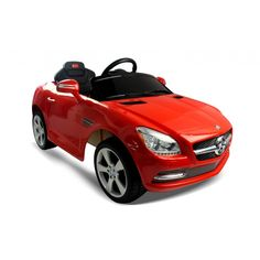 This Mercedes Benz SLK ride on car would make an ideal gift for young children. It has lots of great features including MP3, working lights and sound effects. It is suitable for children aged 3-8 years.