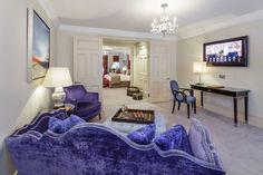 Living Room, Sloane Gardens Serviced Apartments, Chelsea, London