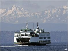 My transportation going home ~ Seattle to Bremerton run on the Kitsap.