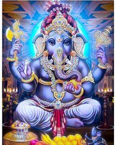 Temps de la Balance – www. Shri Ganesh, Ganesha Art, Krishna Art, Shiva Art, Jesus And Mary Pictures, God Pictures, Ganesha Pictures, Ganesh Images, Ganesh Bhagwan
