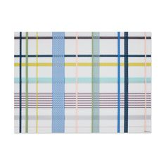 Chilewich Tango Placemat in color Garden Dynamic Design, Cool Patterns, Tango, Placemat, Garden, Color, November, Rug, Plaid
