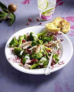 Unser beliebtes Rezept für Salat mit gebratener Makrele und Granatapfelkernen und mehr als 55.000 weitere kostenlose Rezepte auf LECKER.de.