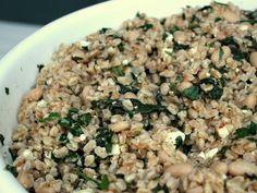Farro White Bean Salad with Lemon Vinaigrette Recipe on Yummly