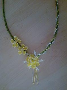 Needlework jewelry tutorial