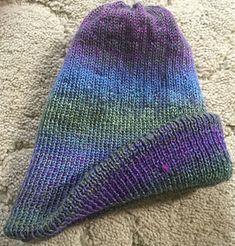 Ravelry: CSM Double Thick Hat pattern by Patricia Flynn Addi Knitting Machine, Circular Knitting Machine, Loom Knitting, Knitting Socks, Knitted Hats, Head And Neck, Sock Yarn, Vintage Knitting, Hat Making