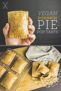 vegan pumpkin pie pop tarts | boardsandknives.com