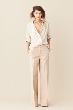 Neutral Pants For Work - Always needed and I love this style/length!