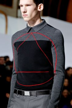 Dior Homme A/W13 details