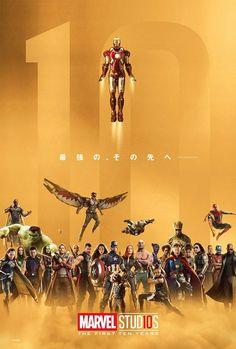 Marvel: Ecco il poster per i 10 anni dei Marvel Studios - Nerdmovieproductions