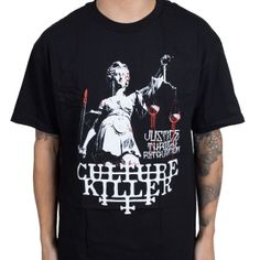 OFFICIAL ~ CULTURE KILLER Lady Liberty T-Shirt