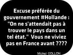 'on ne s'attendait pas à trouver le pays dans un tel état.' Vous ne viviez pas en France avant ??????