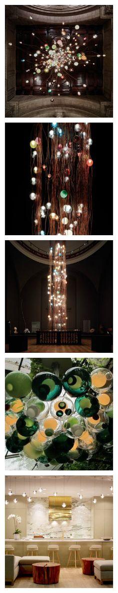 Инсталляция от Bocci в Музее Виктории и Альберта
