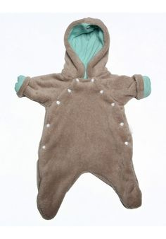 A fully lined furry one-piece to keep your baby warm in the winter months. Lined with aqua cotton. Warm In The Winter, Baby Warmer, Snow Suit, Winter Months, Aqua, One Piece, Hoodies, Cotton, Products