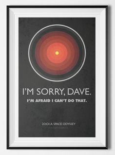 2001: A Space Odyssey HAL 9000 Stanley by MarvelousDesignCo