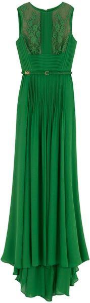The green's a little dark but so elegant!