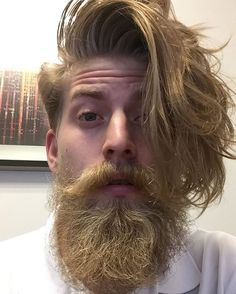 nice 25 Astonishing Blonde Beard Styles - No Reasons to Be Shy