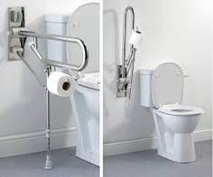 Toilet Rails For Disabled - There is A bathroom sanitation equipment utilized for the utilization of excretion and also to Handicap Bathtub, Handicap Toilet, Shower Grab Bar, Grab Bars In Bathroom, Bathroom Bath, Bathroom Toilets, Bathrooms, Bathroom Ideas, Bathtub Safety Bar