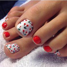Pretty Toe Nails, Cute Toe Nails, My Nails, Simple Toe Nails, Pedicure Nail Art, Toe Nail Art, Toe Nail Polish, Gel Toe Nails, Gel Toes