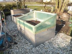 Here's a nifty home-made green house solution. Get your plants growing... even before summer!