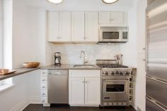 small and efficient kitchen ideas and designs to give you styling and planning inspiration. The Cube Kitchen. Shiny and Transparent. Open up with Skylight. Charming Country Kitchen. Pull-out Work Spaces. Modern Off-Whites. Go Big on the Fixtures. Drawer Organisers.