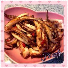 椒鹽魷魚鬚