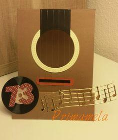 Birthday card guitar theme https://m.facebook.com/Primamela-618616944921762/