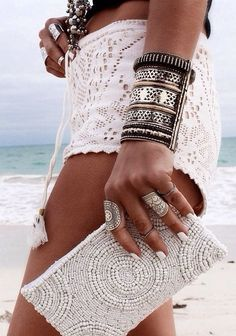lace crocket shorts