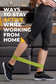 Stay healthy and productive while working from home can be difficult. These tips can help you stay active! Fitness Fun, Fitness Tips, Stay Active, Fun Workouts, How To Stay Healthy, Exercise, Home, Ejercicio, House