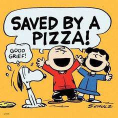 Saved by a pizza!